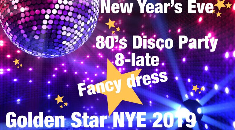New Year's Eve 80s Disco @ The Golden Star